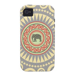StellaRoot Damask Elephant Vinatge Preppy iPhone 4 Case