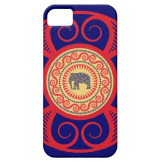 StellaRoot Damask Elephant Vinatge Preppy iPhone 5 Cover