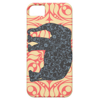 StellaRoot Damask Elephant Vinatge Preppy iPhone 5 Covers