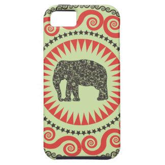 StellaRoot Damask Elephant Vinatge Preppy Moss iPhone 5 Cases