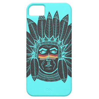 StellaRoot Drawn Vintage Chief Indian iPhone 5 Cases