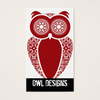 StellaRoot Hootie Owl Business Card