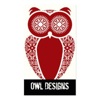 StellaRoot Hootie Owl Business Card