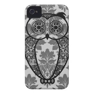 StellaRoot Hootie owl Damask iPhone 4 Covers