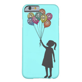 StellaRoot Hope Floats Dreaming Girl Balloons Barely There iPhone 6 Case