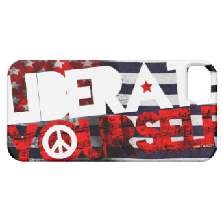 StellaRoot Liberate Yourself Music Election Barely There iPhone 5 Case