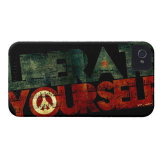 StellaRoot Liberate Yourself Music Election iPhone 4 Case