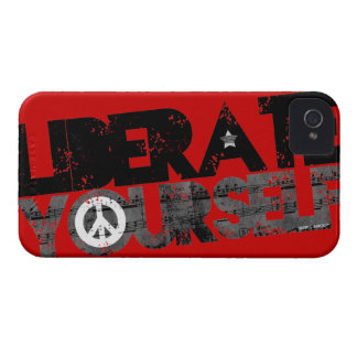 StellaRoot Liberate Yourself Music Election iPhone 4 Covers