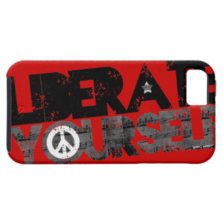 StellaRoot Liberate Yourself Peace Music Election iPhone 5 Case