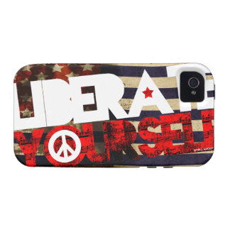 StellaRoot Liberate Yourself Peace Music Election iPhone 4 Cases