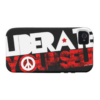 StellaRoot Liberate Yourself Peace Music Election Case For The iPhone 4