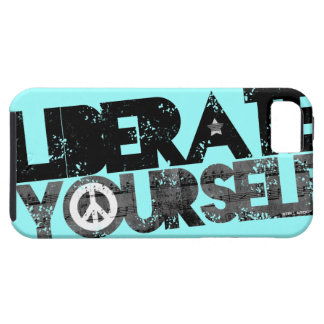 StellaRoot Liberate Yourself Peace Music Election iPhone 5 Cases