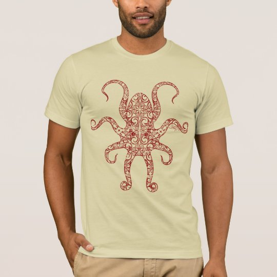 StellaRoot Nautilus Octopus Distressed T-Shirt