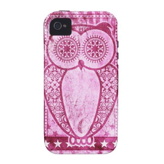 StellaRoot Pink Jeans Hootie Owl Vibe iPhone 4 Covers