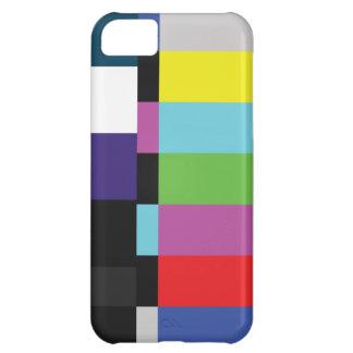 StellaRoot Retro TV Color Code Television vcr bars iPhone 5C Case
