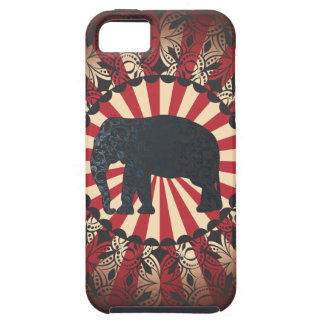 StellaRoot Vintage Circus Elephant Free Mandarin Tough iPhone 5 Case