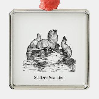 Steller Sea Lion Christmas Ornament