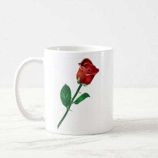 Stem Rose, Stem Rose Coffee Mug