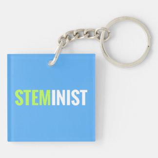 STEMinist Keychain