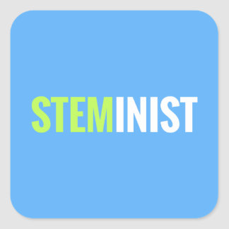 STEMinist Sticker - Square