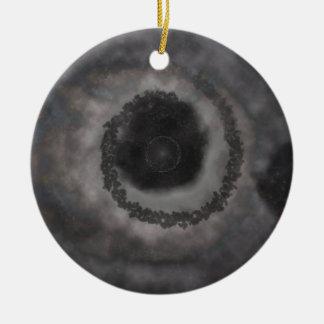Stemma Round Ceramic Decoration