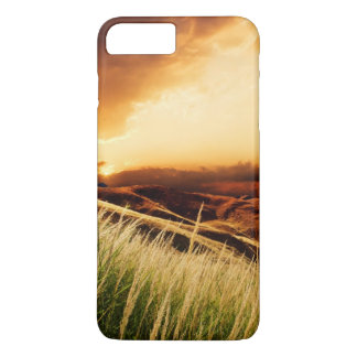 stems of rush at the sunset iPhone 8 plus/7 plus case