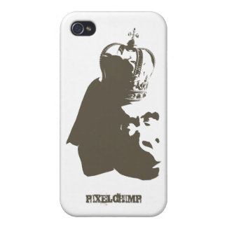 Stencil King Ape Case For iPhone 4