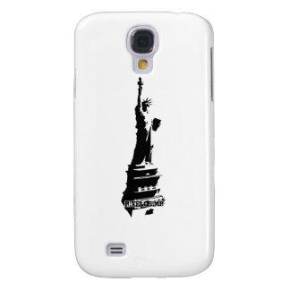 Stencil Liberty Black Samsung Galaxy S4 Cover