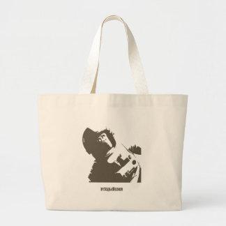 Stencil Space Ape Bag