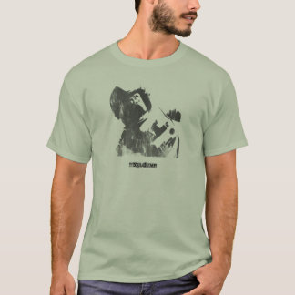 Stencil Space Monkey Spray T-Shirt