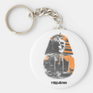 Stencil Spray Pharoah Keychains