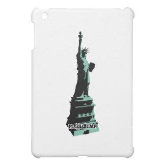 Stencil Statue Liberty Green iPad Mini Covers