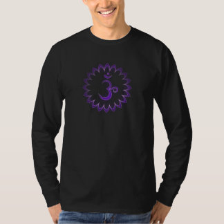 """Stenciled"" Crown Chakra - Sahasrara T-Shirt"