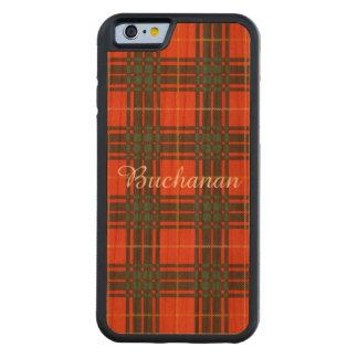 Stenhouse family clan Plaid Scottish kilt tartan Carved Cherry iPhone 6 Bumper Case