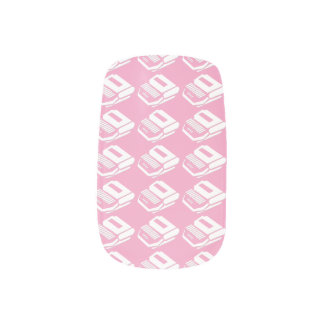 Steno nail art decals