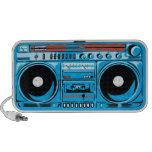 stenSOUL Ghetto Blaster Blue Travel Speakers