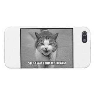 Step Away From My Treats Cover For iPhone 5