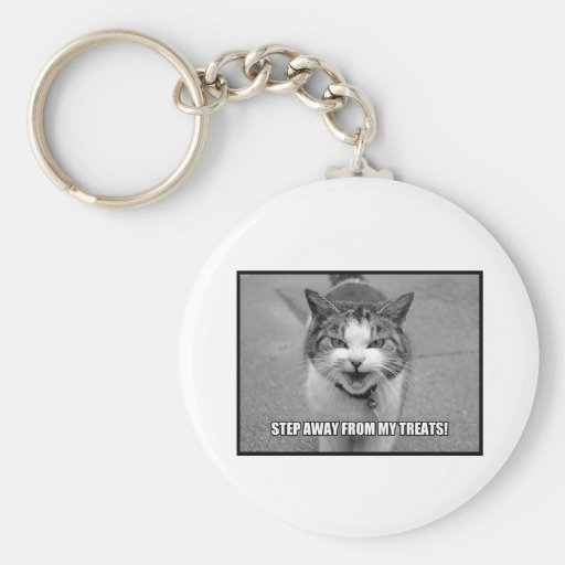 Step Away From My Treats Key Chains