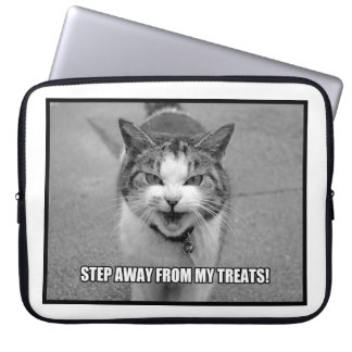 Step Away From My Treats Computer Sleeves