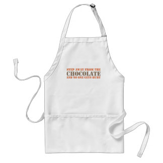Step Away From the Chocolate Standard Apron