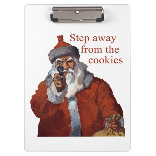 Step Away from the Cookies Clipboard