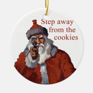 Step Away from the Cookies Christmas Tree Ornaments