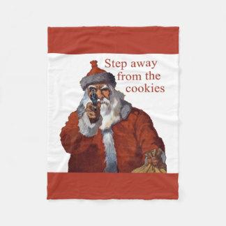Step Away from the Cookies Fleece Blanket