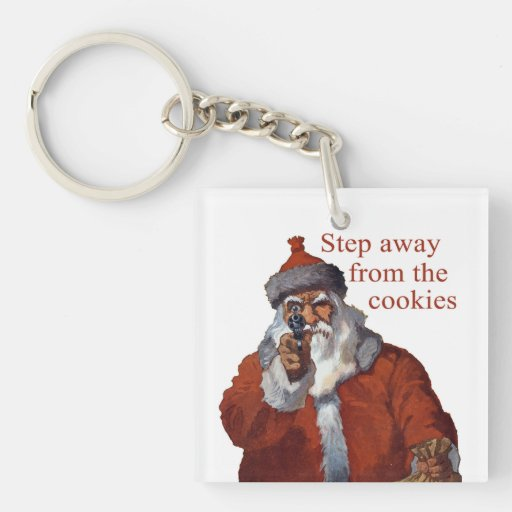 Step Away from the Cookies Keychains
