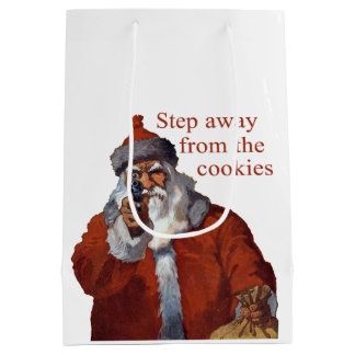 Step Away from the Cookies Medium Gift Bag
