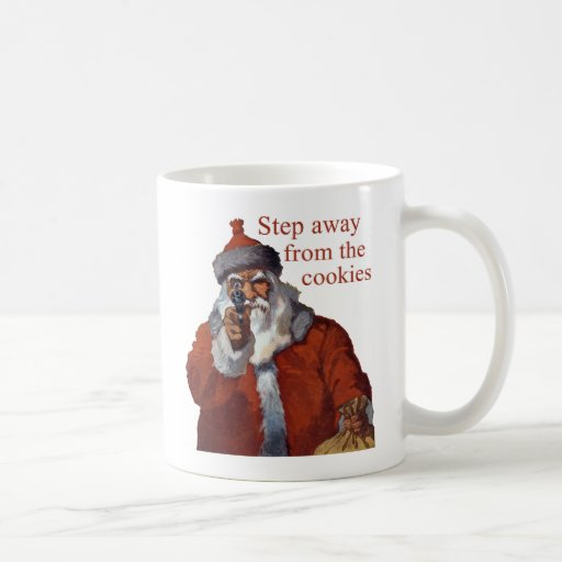 Step Away from the Cookies Coffee Mugs