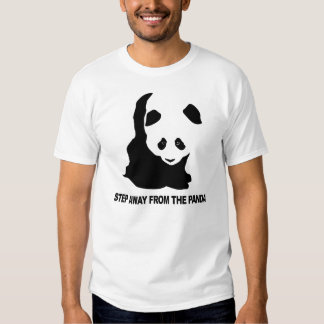 Step away from the Panda T Shirts