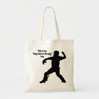 STEP BACK FACE BUDGET TOTE BAG