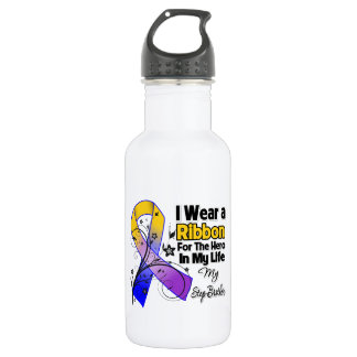 Step-Brother Hero in My Life Bladder Cancer 532 Ml Water Bottle