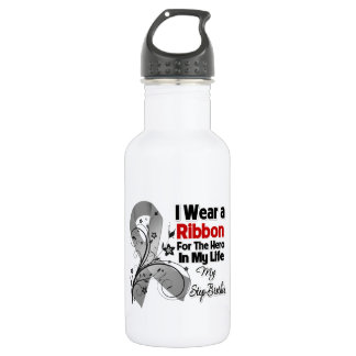 Step-Brother Hero in My Life Brain Cancer 532 Ml Water Bottle
